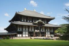 Tōdai籍寺庙(Daibutsu),奈良 库存图片
