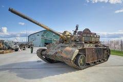 55 t坦克 免版税库存图片