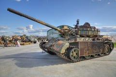 55 t坦克 库存图片