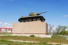 34 t坦克 图库摄影