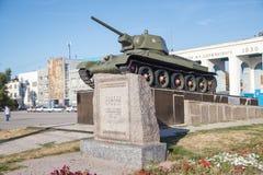34 t坦克 免版税图库摄影