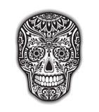 T恤杉的印刷品墨西哥传统短桨 库存图片