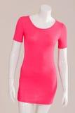 T恤杉长期变粉红色 库存图片