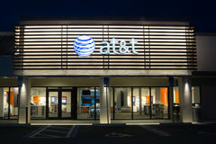 AT&T流动性 免版税图库摄影