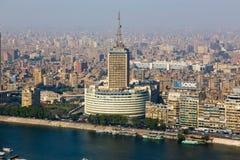 t看法  v 从开罗塔的大厦 图库摄影