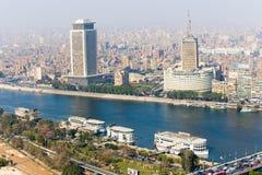 t看法  v 从开罗塔的大厦 库存图片