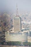t看法  v 从开罗塔的大厦 免版税库存照片