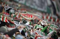 T-передвижная дополнительная лига Legia Варшава Ruch Chorzow Стоковое Изображение