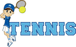 T для тенниса Стоковое фото RF