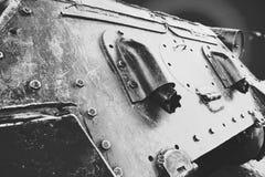 T-34坦克后方 免版税库存照片