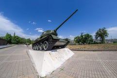 t34坦克 免版税库存图片