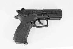 T-9被分离的乌克兰手枪 免版税库存照片