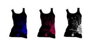 вектор рубашки t конструкции Стоковое Фото