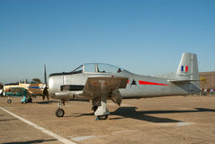 T-28 Fennec on the flight lane Royalty Free Stock Photography