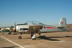 T-28 Fennec op de vluchtsteeg Royalty-vrije Stock Fotografie