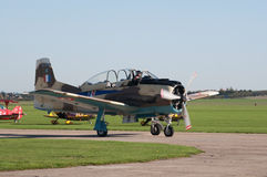 T-28 Fennec taxis for takeoff Stock Image