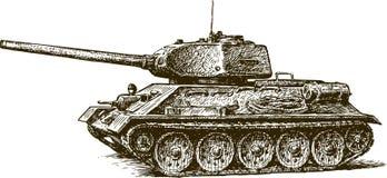 T-34 ilustracja wektor
