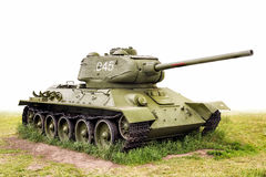 T-34 (85) serbatoi leggendario URSS Fotografia Stock