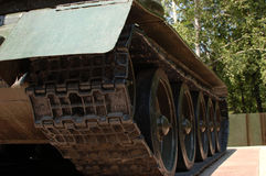 T-34 (Detail) Royalty Free Stock Photos