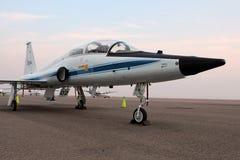 T-38爪美国航空航天局-宇航员喷气机培训人 免版税库存图片