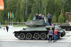 T-34 Zdjęcia Stock