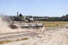 T-55 tank Royalty-vrije Stock Foto