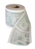 穿上您货币t的浪费 库存图片