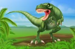 T雷克斯恐龙 库存图片