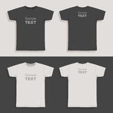 精神T恤杉设计模板 向量例证
