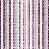 无缝的镶边几何样式 T恤杉的纺织品装饰品 免版税图库摄影