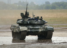 T-90 Is A Russian Main Battle Tank Stock Images