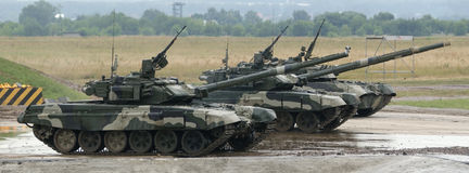 T-90 is a Russian main battle tank Stock Image
