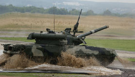 T-90 is a Russian main battle tank Royalty Free Stock Images