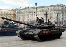 T-90A是一辆第三代俄国主战坦克 免版税库存照片