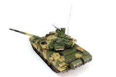 T-90A模型是一个背面图 免版税库存图片