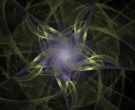 tła abstrakcjonistyczny fractal royalty ilustracja