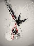 tła abstrakcjonistyczny grunge Obraz Royalty Free