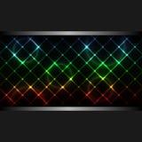 tła abstrakcjonistyczny neon Zdjęcie Royalty Free
