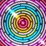 tła abstrakcjonistyczny neon Fotografia Stock