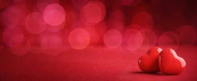 tła abstrakcjonistyczny serce Zdjęcie Royalty Free