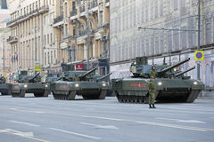 The T-14 Armata main battle tank Stock Images