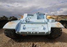 T-54 armerad personalbärare på skärm Royaltyfria Foton