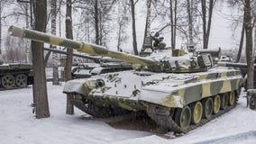 T-80B-de eerste periodieke tank van de wereld met een motor van de gasturbine, Stock Afbeeldingen