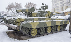 T-80B-The world's first serial tank with a gas turbine engine, Stock Photos