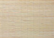 tła bambusa mata Zdjęcie Royalty Free