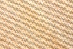 tła bambusa mata fotografia stock