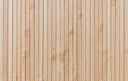 tła bambusa ogrodzenia horisontal mata Zdjęcie Stock