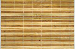 tła bambusa ogrodzenia horisontal mata Fotografia Stock