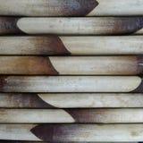 tła bambusowego placemat bezszwowy tekstury wektoru wicker Zdjęcia Stock