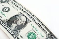 tła banknotu odosobniony biel Zdjęcie Stock
